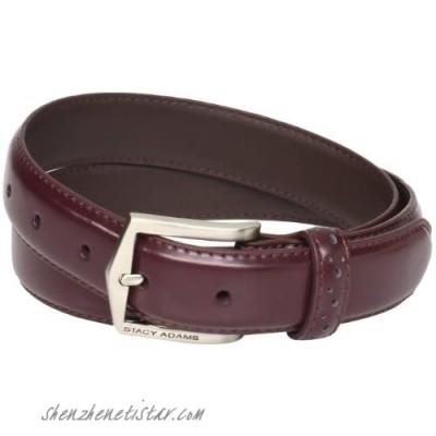 Florsheim mens 32mm Pinseal Leather (Reg & Big Sizes) apparel belts Cordovan 32 US