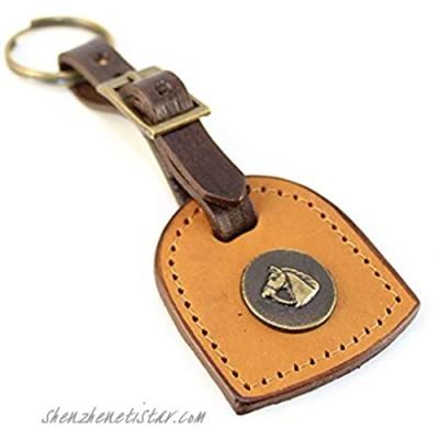 Keychain Tunuyan by Unit Genuine Argentina leather sewn by hand. Keychain Detachable